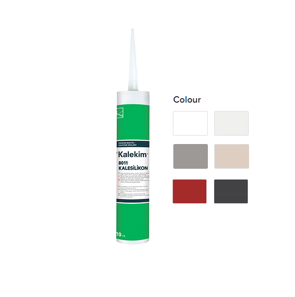 Kalekim General Purpose Silicone Sealant 310ml (8011/8012/8015)