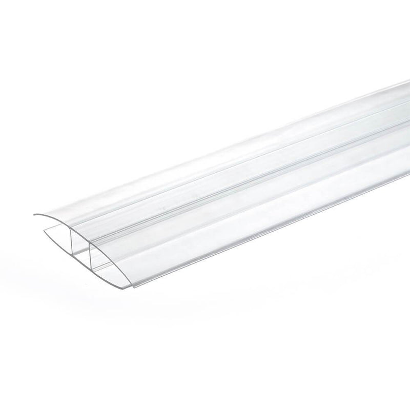 16mm Polycarbonate H Profile Clear Various Size 10 Year Warranty From £2.70 - Decoridea.co.uk