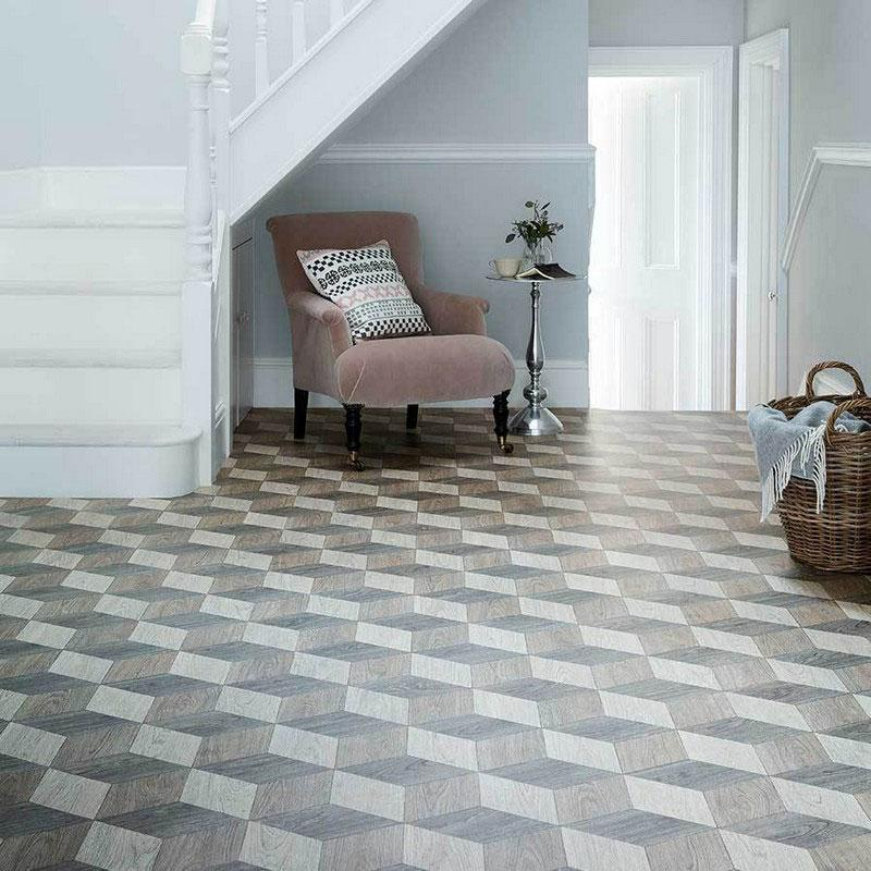 Audrey 584 Super Vinyl Lino Flooring 3m Width Square Metre Price is £7.95 - Decoridea.co.uk