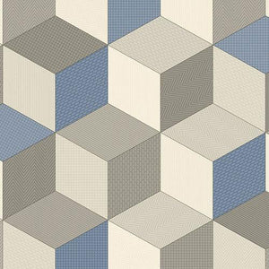 Cubes 073 Smart Vinyl Lino Flooring 4m Width SQM Price is £8.95 - Decoridea.co.uk