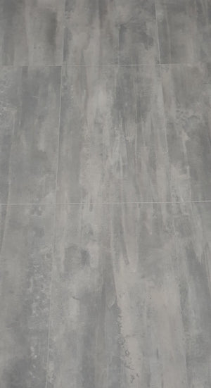 Egger Concrete Light Grey 5mm Luxury Vinyl Tiles Click Flooring Planks (EPD016)