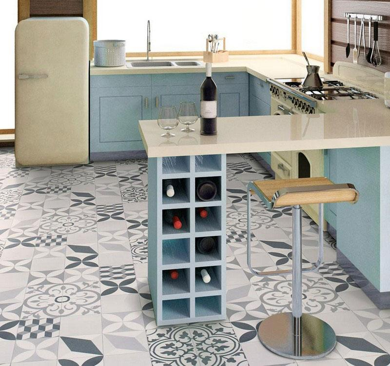 Feliz 595 Eco Vinyl Lino Flooring 4m Width Square Metre Price is £7.95 - Decoridea.co.uk