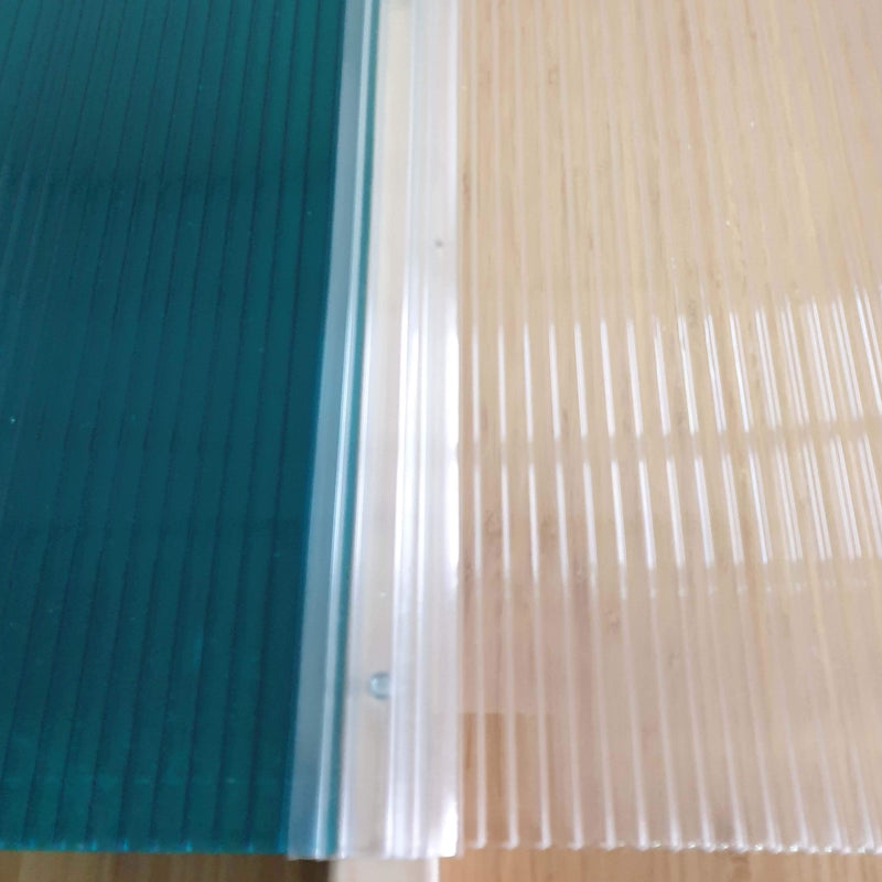 Polycarbonate Snap-Down Glazing Bar for Use With 4mm / 6mm / 8mm / 10mm Polycarbonate Roofing Sheet From £2.70 - Decoridea.co.uk
