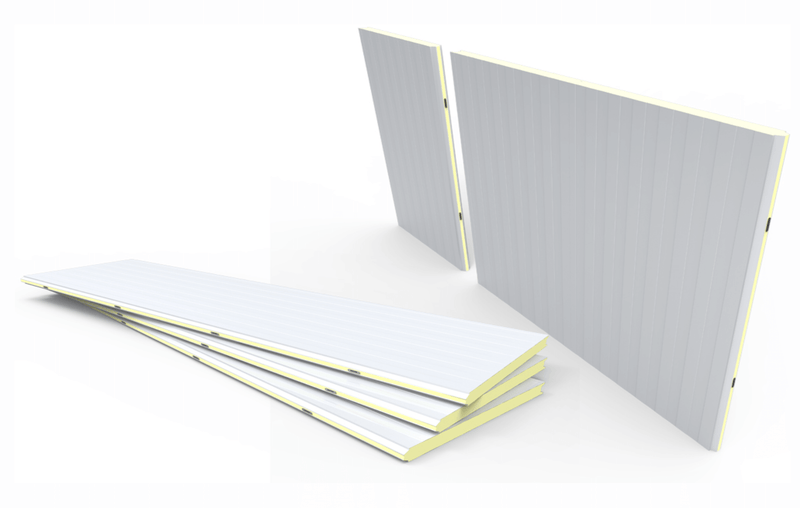 Polyurethane Cold Room Panels 80mm 110cmx220cm Price is £120.00 - Decoridea.co.uk