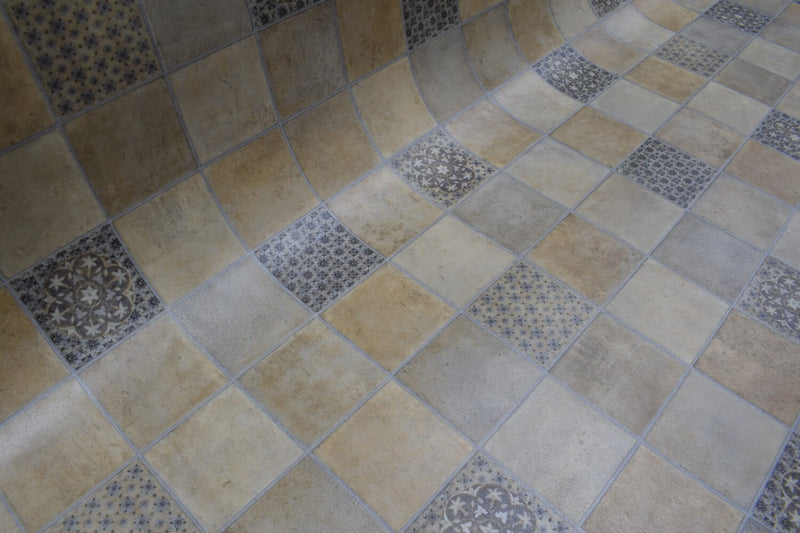 Salsa 696 Vinyl Lino Flooring 3m Width Square Metre Price is £7.95 - Decoridea.co.uk