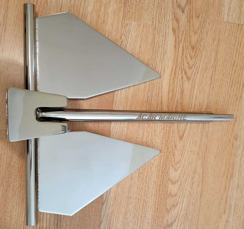 Stainless Steel Fluke Style Danforth Anchor AISI 304 From £249.00 - Decoridea.co.uk