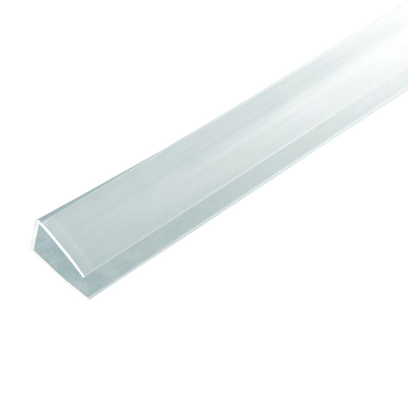 8mm Polycarbonate U Profile Clear Various Size 10 Year Warranty