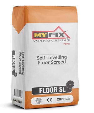 Floor SL 10 / Self-Levelling Floor Screed 1-10 mm (20 Kg) Pack Price is £11.75 - Decoridea.co.uk