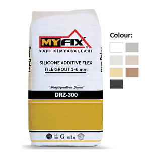 CG2 WA Silicone Additive Flex Tile Grout 1-6 mm (5 Kg) From £3.00 - Decoridea.co.uk