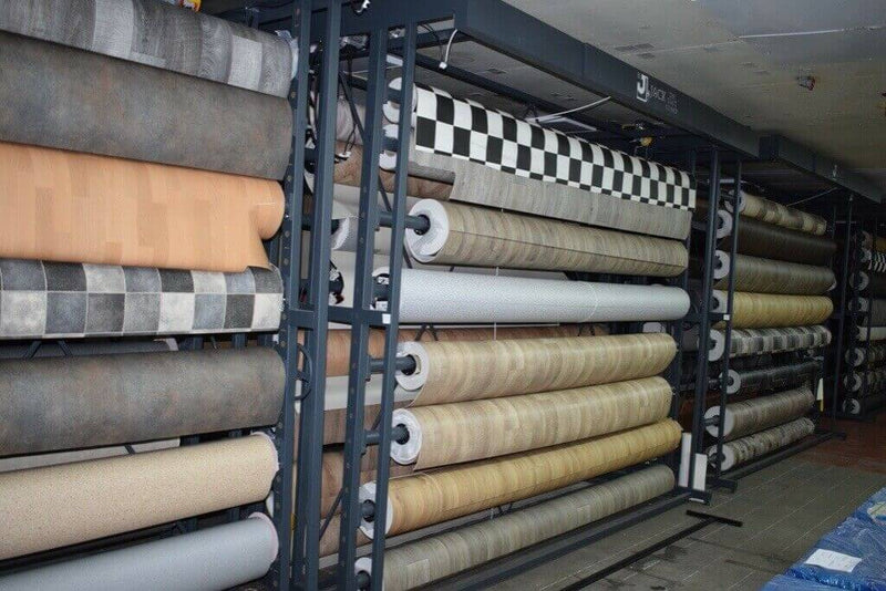 Carpet Display Stand 3.5m & 4m Roll From £1350.00 - Decoridea.co.uk
