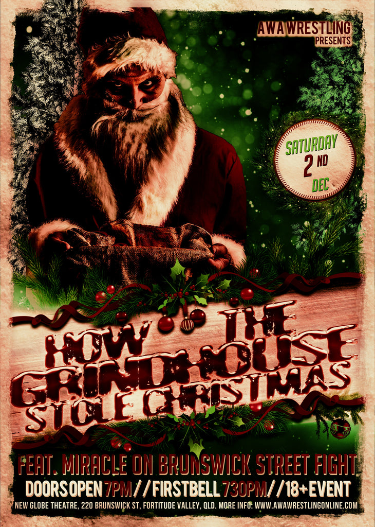 How the Grindhouse Stole Christmas: New Matches Announced!