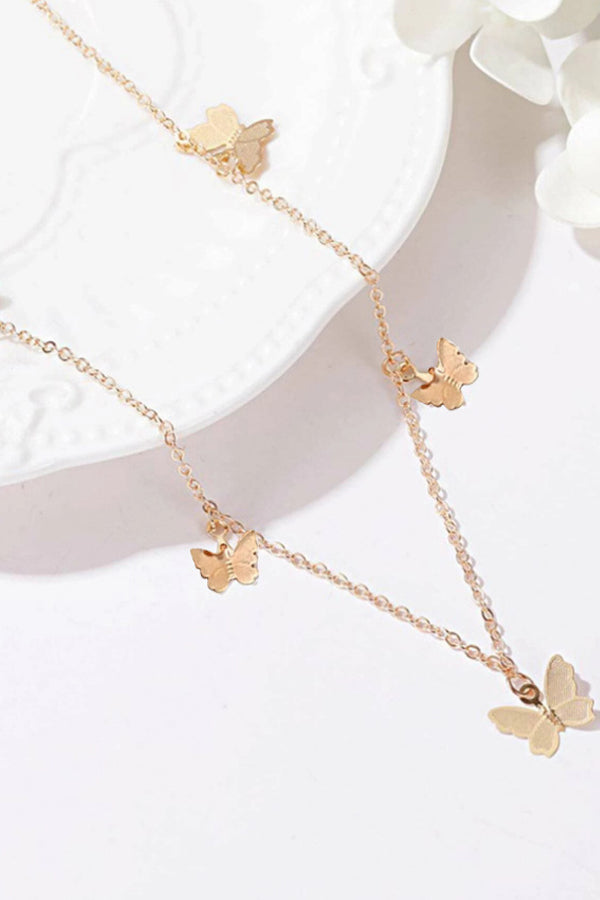 1pc Butterfly Charm Necklace
