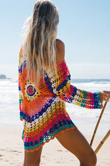 Colorful Sun Protection Swimsuit Cover Up