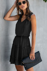 Stringy Selvedge High Waisted Casual Dress
