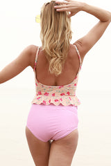 Shining You Floral  Print Tankini Set