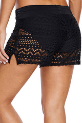 Side Slit Swim Shorts