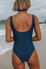 Flower Print Ruched Design One Piece Swimsuits
