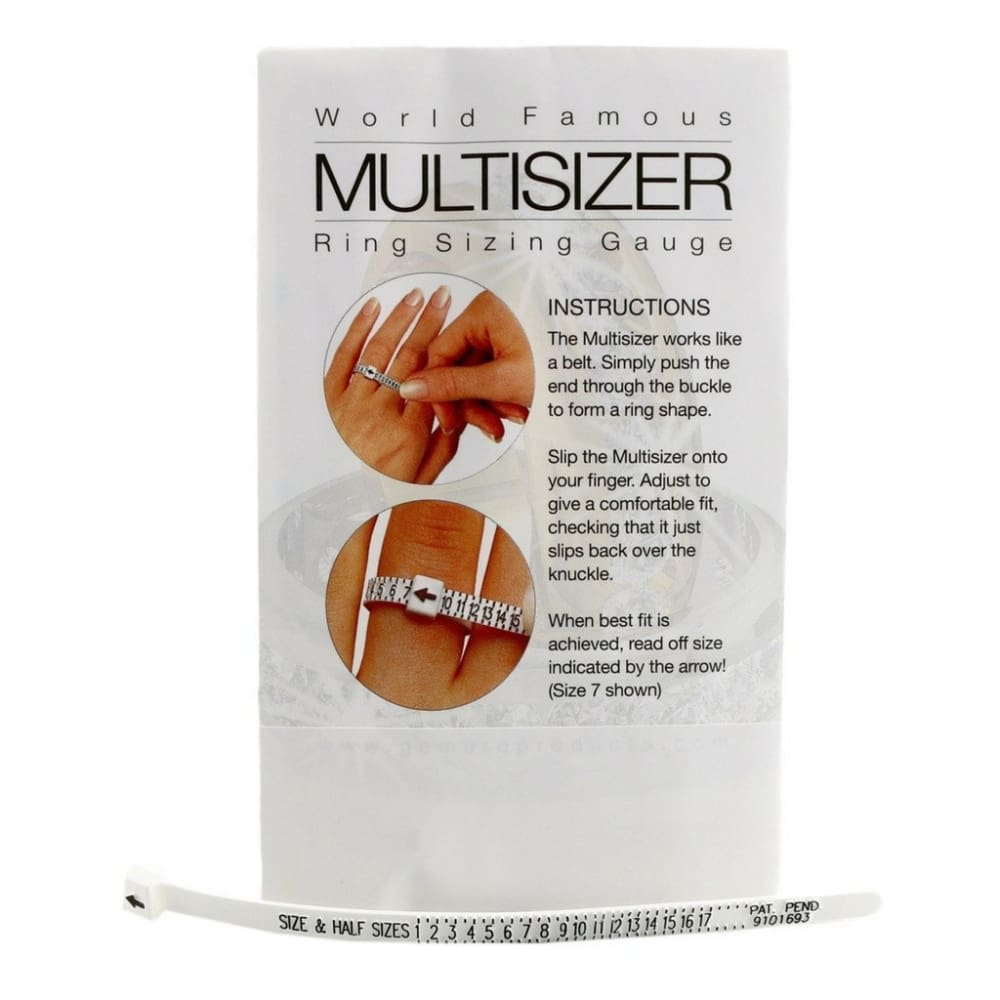 Adjustable Ring Sizer (US Sizes 1- 17)