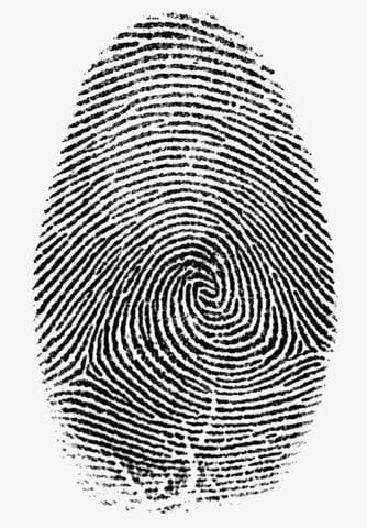 Fingerprint engraving
