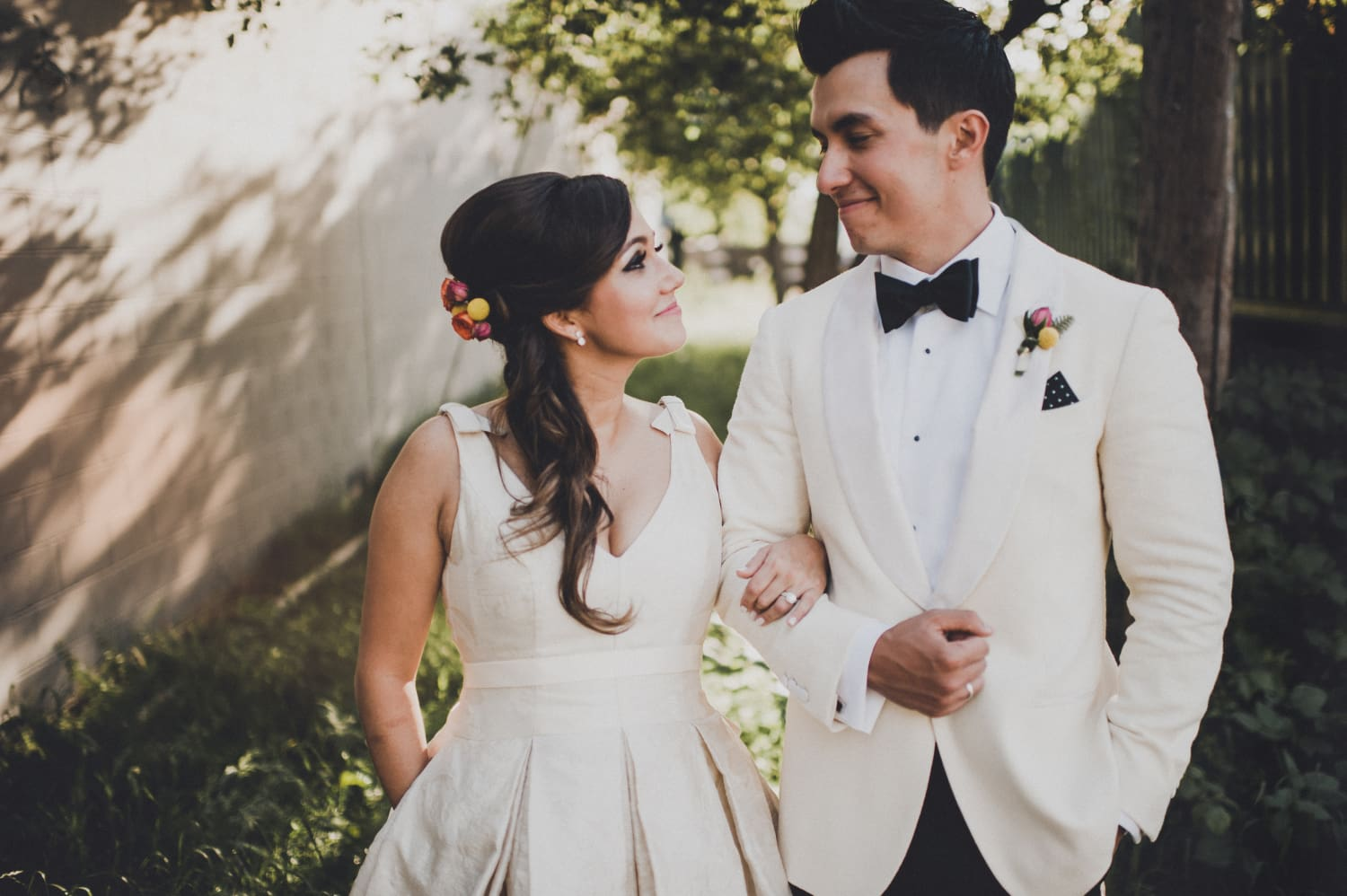 Image result for modern wedding couple