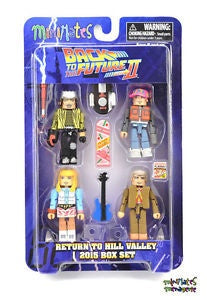 Minimates Back To The Future Part II 2015 Box Set 4-Pack