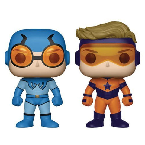 Funko DC Comics Booster Gold and Blue Beetle Pop! Vinyl Figure 2-Pack - Previews Exclusive Kramer Toy Warden Greenhills, Alabang Mall, Philippines
