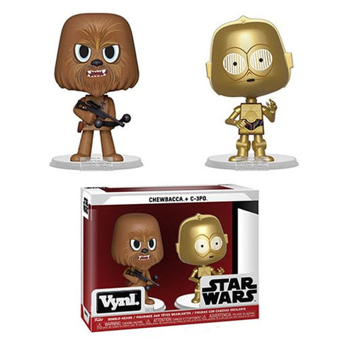 Star Wars Chewbacca and C-3PO Vynl Figure 2-Pack Kramer Toy Warden in the Philippines