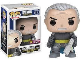 Dark Knight Returns Unmasked Armored Batman Pop! Vinyl Figure - Previews Exclusives