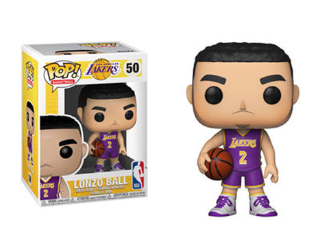 Funko NBA Lakers Lonzo Ball Pop! Vinyl Figure #50 Kramer Toy Warden Greenhills, Alabang Mall, Philippines