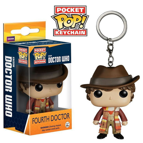 Funko Doctor Who 4th Doctor Pocket Pop! Vinyl Figure Key Chain Kramer Toy Warden Greenhills, Alabang Mall, Philippines