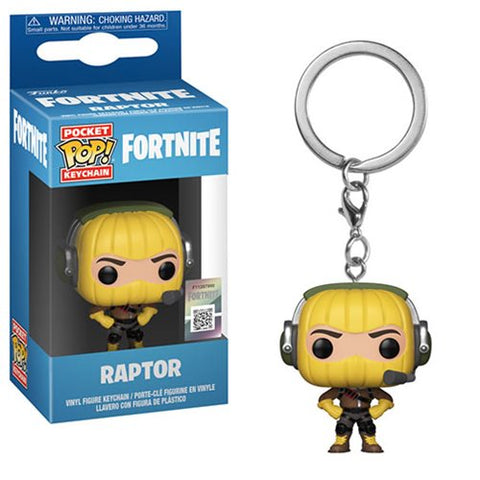 Funko Fortnite Raptor Pocket Pop! Key Chain Kramer Toy Warden Greenhills, Alabang Mall, Philippines