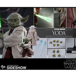 Sideshow Star Wars Yoda Sixth Scale Collectible Figure by Hot Toys