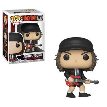 Funko Pop Rocks! AC/DC Angus Young Pop! Vinyl Figure #91 Kramer Toy Warden Greenhills, Alabang Mall, Philippines