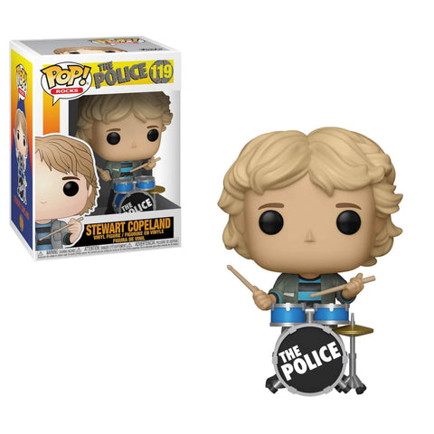 Pop Rocks! The Police Stewart Copeland Vinyl Figure