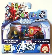 Minimates Avengers Assemble Dark Avengers Iron Man & Black Widow
