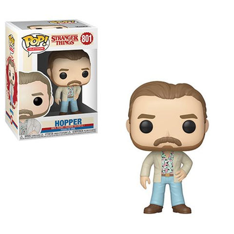 Preorder Stranger Things Date Night Hopper Pop! Vinyl Figure PO P550