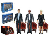 "SHARK TANK Mark Cuban, Daymond, & Barbara 3.75"" Action Figure Set of 3 - Convention Exclusive"