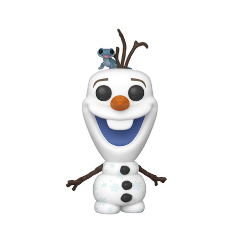 Preorder Frozen 2 Olaf and Fire Salamander Pop! Vinyl Figure PO P585