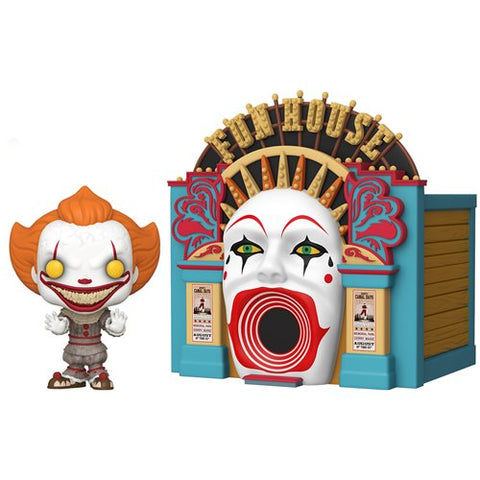 Preorder It 2 Demonic Pennywise with Funhouse Pop! Town PO P1710