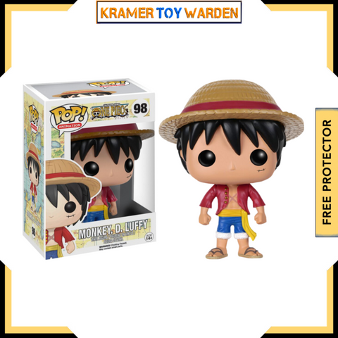 Preorder One Piece Monkey D. Luffy Pop! Vinyl Figure PO P650