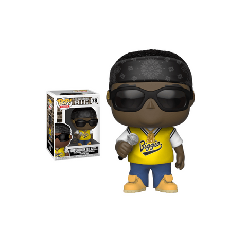 Funko Pop Rocks: Notorious B.I.G in Jersey Pop! Vinyl Figure Kramer Toy Warden Greenhills, Alabang Mall, Philippines