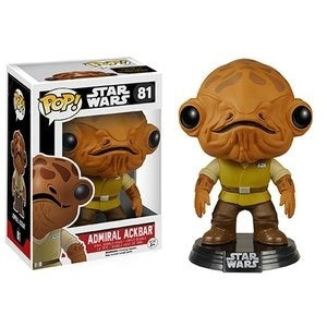Star Wars: TFA Admiral Ackbar Pop! Vinyl Bobble Head