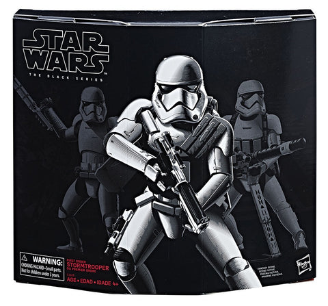 Star Wars The Black Series First Order Stormtrooper with Gear