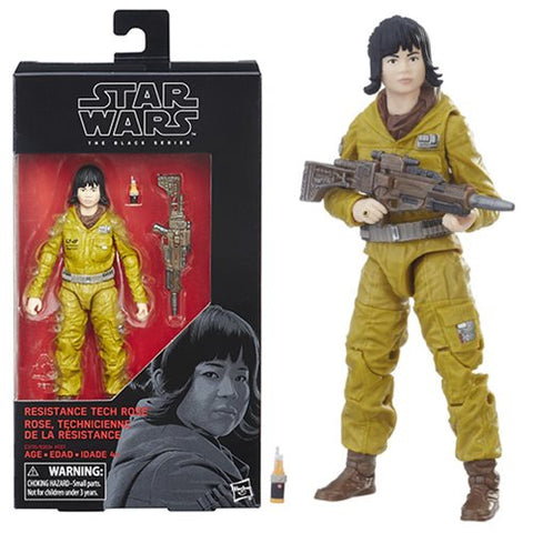 "Star Wars The Black Series Resistance Tech Rose 6"" Action Figure"