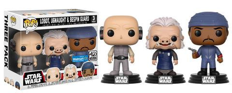 Funko Star Wars Lobot, Ugnaught and Bespin Guard Pop! Vinyl Figure 3-Pack Walmart Exclusive Kramer Toy Warden Greenhills, Alabang Mall, Philippines