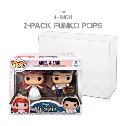 Pop! Protectors for Funko Pop! 2-Packs