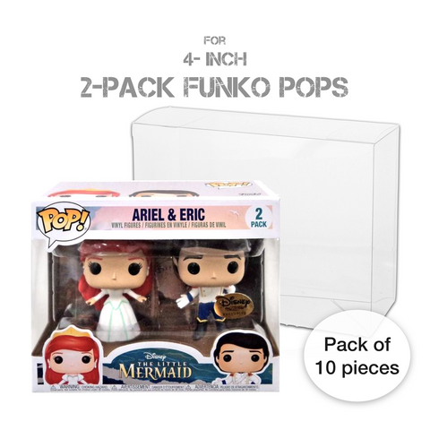 Pop! Protectors for Funko Pop 2-Packs - Bundle of 10 pieces