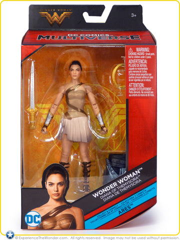 "DC Multiverse 6"" Wonder Woman Diana Themyscira Series Action Figure"