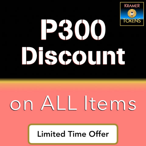 P300 Discount on All Items - 6,000 Kramer Tokens