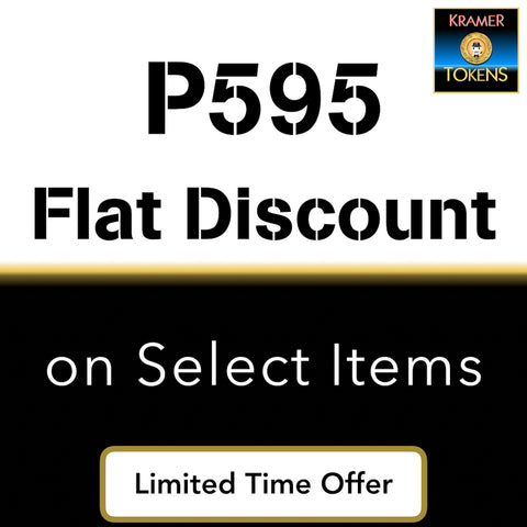 P595 Flat Discount on Select Items - 6,000 Kramer Tokens